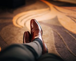 shoes to go with suits
