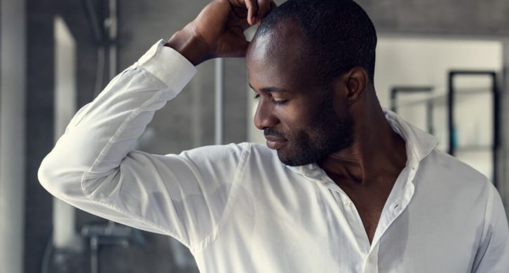 how to reduce armpit sweat for men